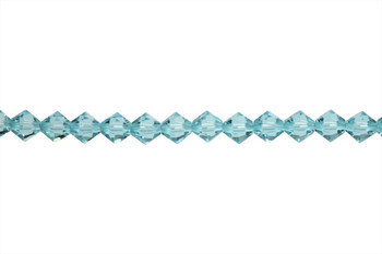 Swarovski Crystal Light Turquoise 5328 6mm Bicones