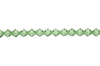 Swarovski Crystal Peridot 5328 6mm Bicones