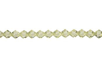 Swarovski Crystal Jonquil 5328 6mm Bicones