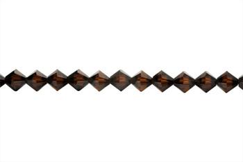 Swarovski Crystal Mocha 5328 6mm Bicones