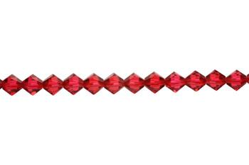 Swarovski Crystal Scarlet 5328 6mm Bicones