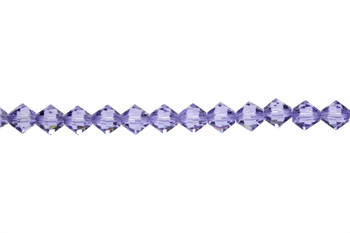 Swarovski Crystal Tanzanite 5328 6mm Bicones