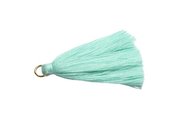 Turquoise 2 Inch Tassel