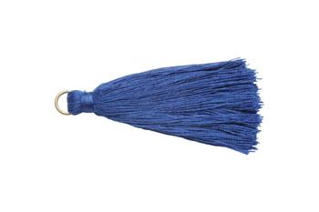 Blue 2 Inch Tassel