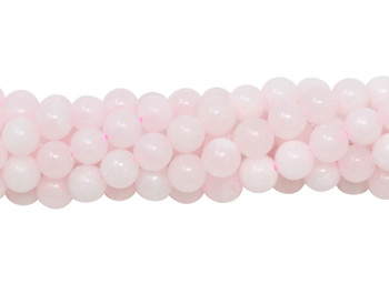 Mongano Pink Calcite Polished 6mm Round