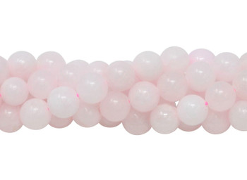 Mongano Pink Calcite Polished 8mm Round