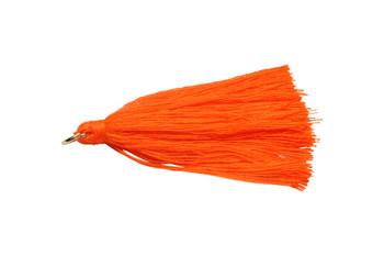 Bright Orange 2 Inch Tassel