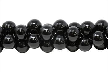 Black Onyx Grade A Polished 18mm Round