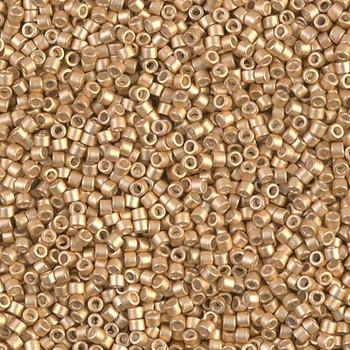Delicas Size 11 Miyuki Seed Beads -- 1153 Galvanized Mead Semi Matte