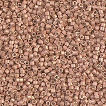 Delicas Size 11 Miyuki Seed Beads -- 1155 Galvanized Muscat Semi Matte