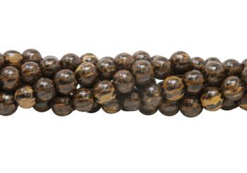 Dyed Patikan / Old Palmwood Wood Polished 8mm Round
