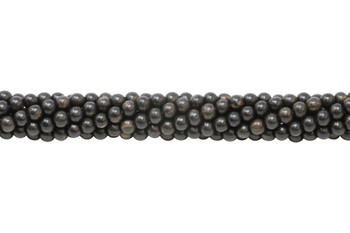 Black Ebony Wood 6mm Round