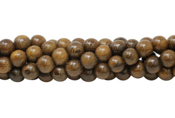 Polished Robles Wood 10mm Round
