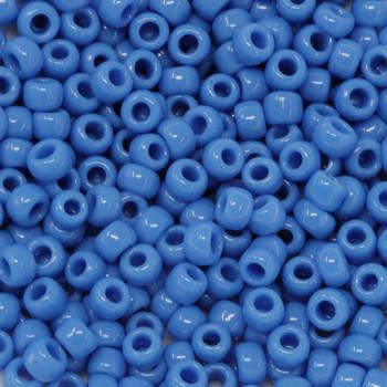 Size 6 Toho Seed Beads -- 412E Opaque Cornflower