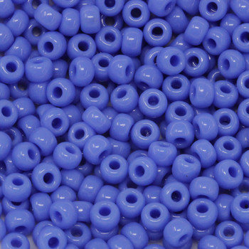 Size 6 Miyuki Seed Beads -- 417A Opaque Periwinkle