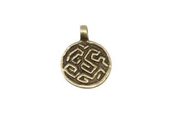 Indian Brass 20mm Coin