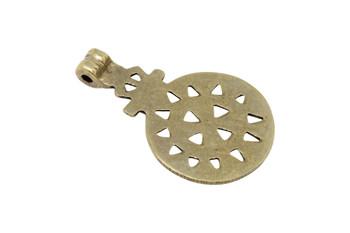 Indian Brass 35x57mm Pendant