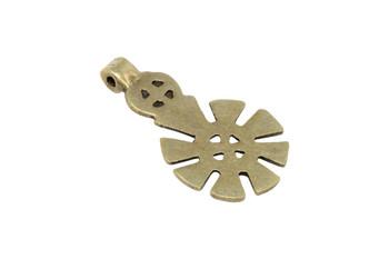 Indian Brass 30x54mm Pendant