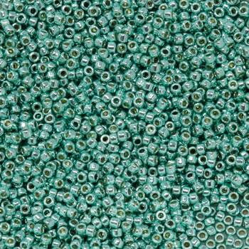 Size 15 Toho Seed Bead -- P484 Galvanized Seafoam