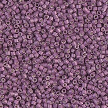 Delicas Size 11 Miyuki Seed Beads -- 1173 Galvanized Magenta Matte