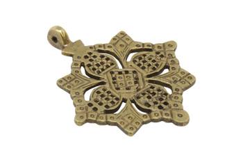 Indian Brass 70mm Pendant