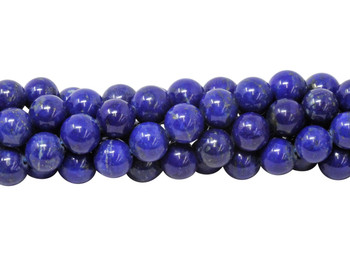 Dark Blue Lapis A Grade Polished 8mm Round