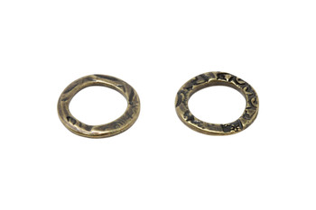 Flora Large Ring - Brass Plated