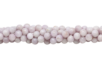 Light Purple Kunzite Polished 8mm Round