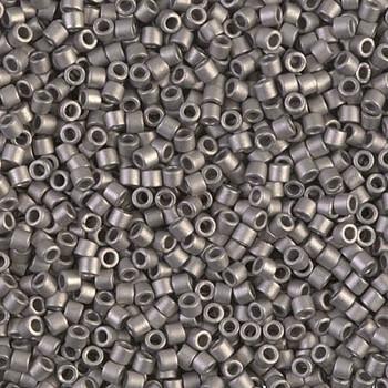 Delicas Size 10 Miyuki Seed Beads -- 321 Metallic Silver Matte