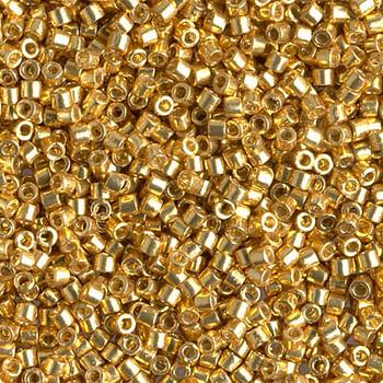 Delicas Size 10 Miyuki Seed Beads -- 1832 Duracoat Galvanized Gold