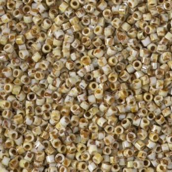 Delicas Size 10 Miyuki Seed Beads -- 2262 Picasso Bamboo
