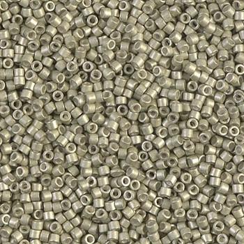 Delicas Size 11 Miyuki Seed Beads -- 1181 Galvanized Aloe Semi Matte