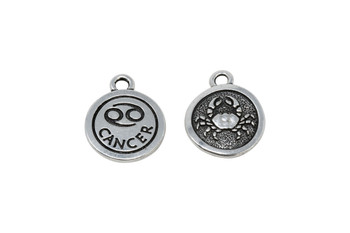 Cancer - Silver Plated