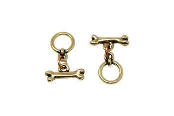 Spot Toggle Clasp Set - Gold Plated