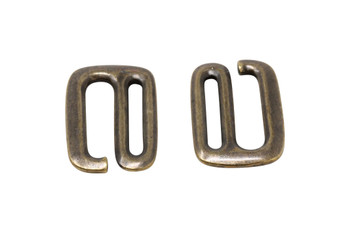 "3/4"" E Hook - Brass Plated"