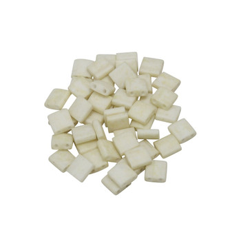 5mm Tila Beads -- Antique Ivory Pearl
