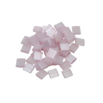 5mm Tila Beads -- Pink Silk Satin