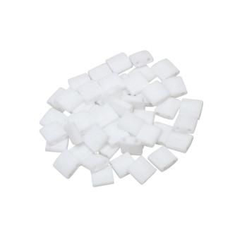 5mm Tila Beads -- Opaque White Matte