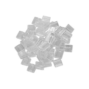 5mm Tila Beads -- Crystal Luster