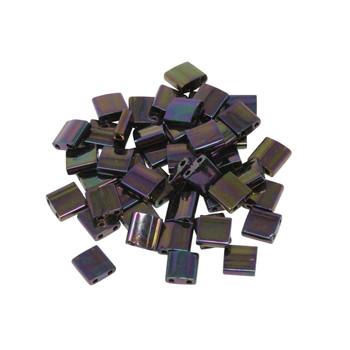 5mm Tila Beads -- Metallic Purple Iris