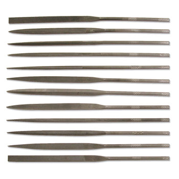 12 Piece Mini Needle File Set