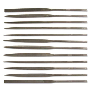 12 Piece Needle File Set