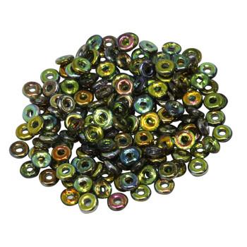 Glass O Beads -- Magic Green