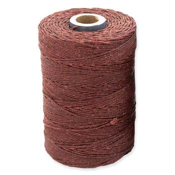 Irish Waxed Linen - Dark Rust - Sold by the Foot