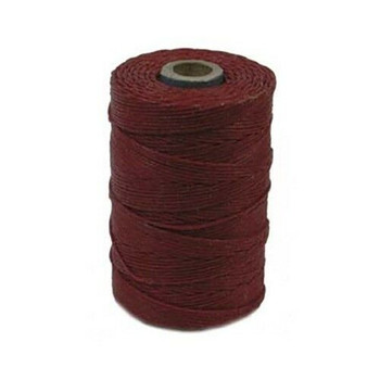 Irish Waxed Linen - Country Red - Sold by the Foot