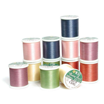 KO Beading Thread - White