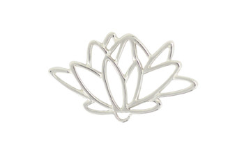 Small Lotus - Sterling Silver