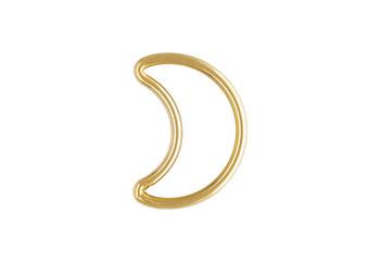 Mini Half Moon - 14kt Gold Filled