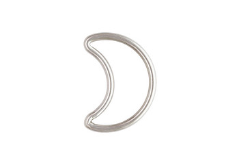 Mini Half Moon - Sterling Silver