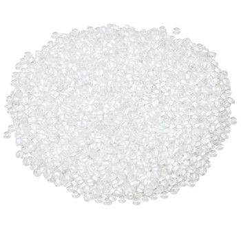 Size 11 Toho Demi Round Seed Beads -- Crystal Frosted / Snow Lined